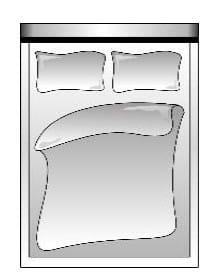 Candy Betten Homelike Fuß- und Seiteinteil