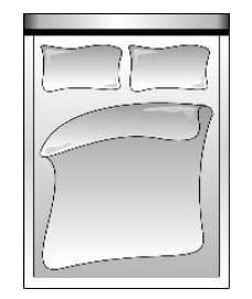 Candy Betten Sixty Bed Fuß- und Seiteinteil
