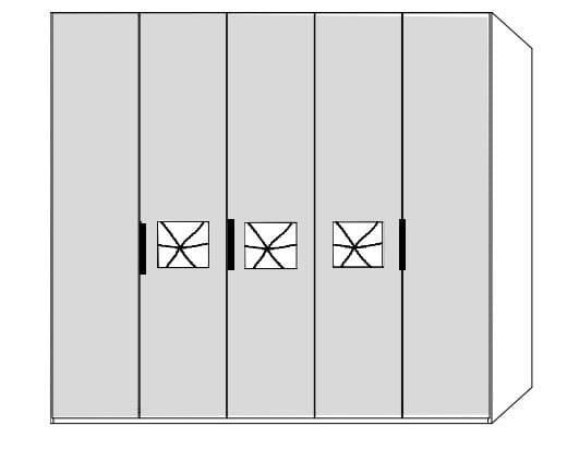 Disselkamp Cena Kleiderschranksystem 2