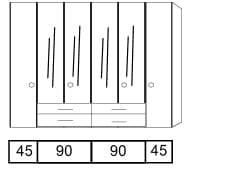 Disselkamp Comfort M Kleiderschranksystem 2