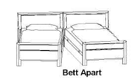 Disselkamp Coretta Verwandlungsbetten