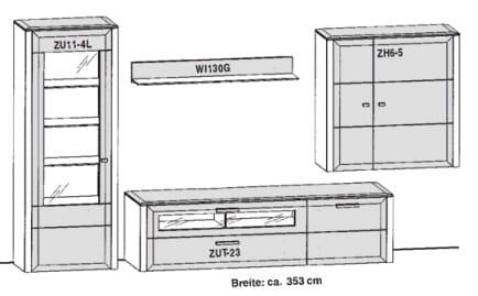 Gwinner Solid Wandkombinationen SL203