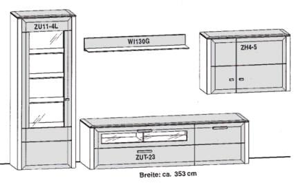 Gwinner Solid Wandkombinationen SL204