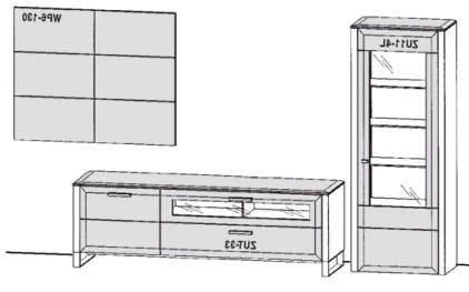 Gwinner Solid Wandkombinationen SL205-SV