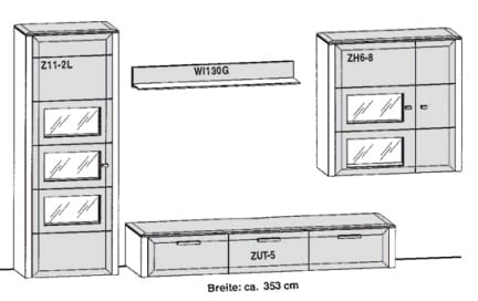 Gwinner Solid Wandkombinationen SL31