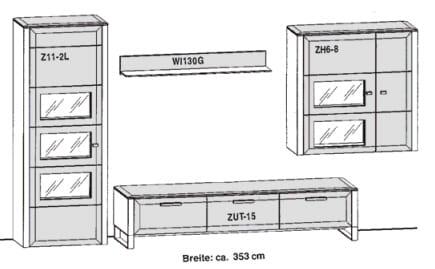 Gwinner Solid Wandkombinationen SL32
