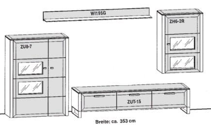 Gwinner Solid Wandkombinationen SL34-SV