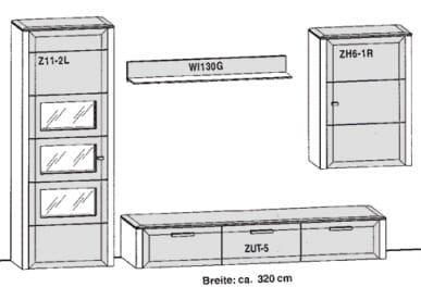 Gwinner Solid Wandkombinationen SL35