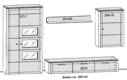 Gwinner Solid Wandkombinationen SL36-SV