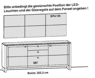 Gwinner Solid Wandkombinationen SL61