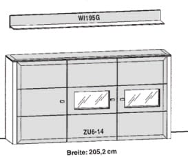 Gwinner Solid Wandkombinationen SL64