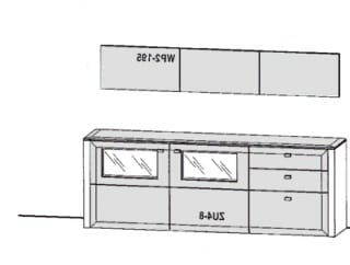 Gwinner Solid Wandkombinationen SL82-SV