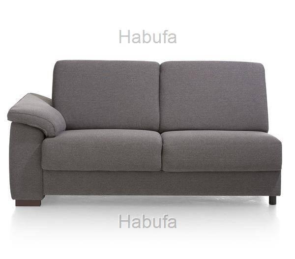 Habufa Sofas Sydney 2-Sitzer - Armlehne links - fest
