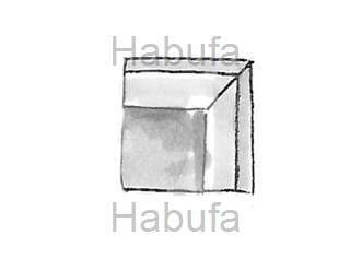 Habufa Sofas Sydney Eckteil viereckig