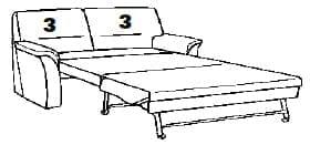 Himolla Sleepoly 2202 46 X