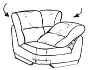 Himolla Tangram Sofa 9553 75 Y