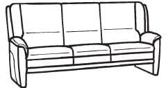 Himolla Tangram Sofa 9851 12 X