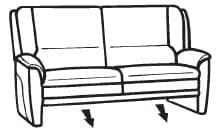 Himolla Tangram Sofa 9851 81 X