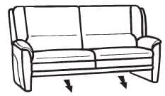 Himolla Tangram Sofa 9852 82 X