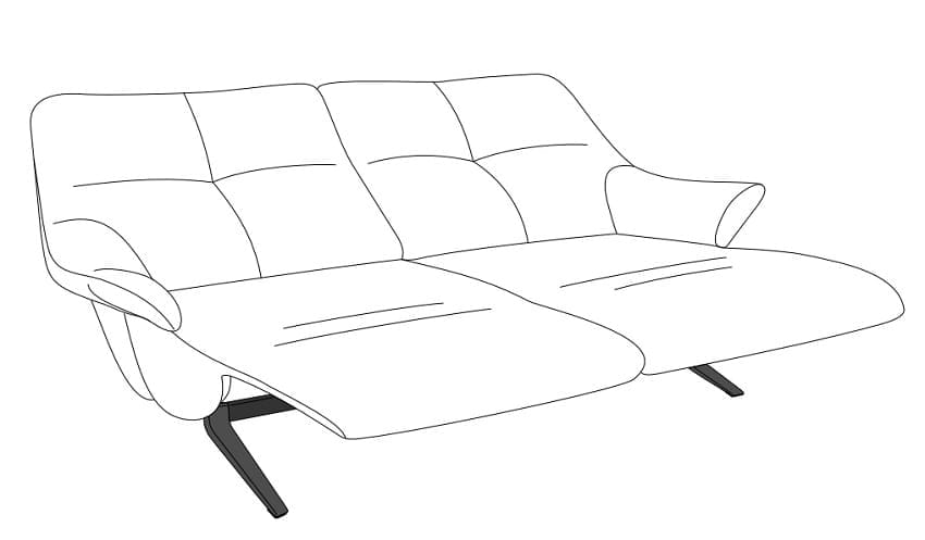 Himolla Easy Comfort 4602 Sofa