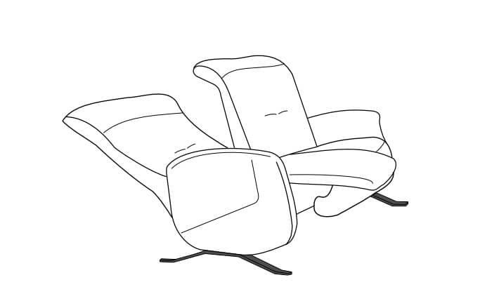 Himolla Cumuly Comfort 4707 Einzelsofas