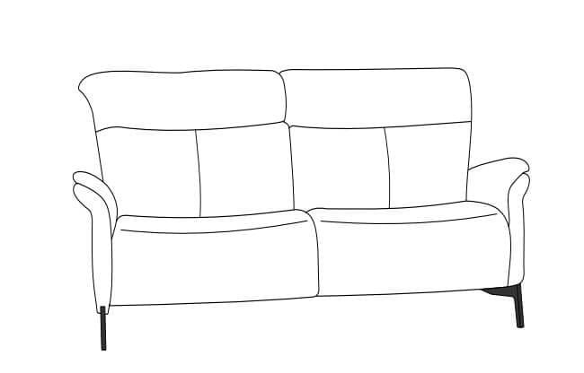 Himolla Cumuly Comfort 4708 Einzel-Sofa