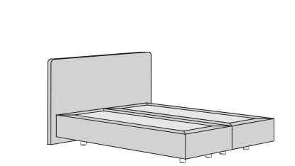 Hülsta Now sleeping Boxspring