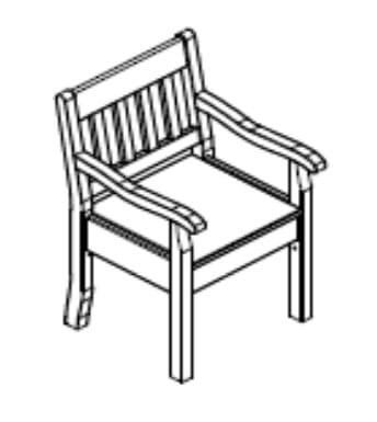Jumek Wohnen und Speisen Boston Sessel