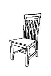 Jumek Wohnen und Speisen Boston Stühle