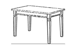 Jumek Wohnen und Speisen Fjord Tische