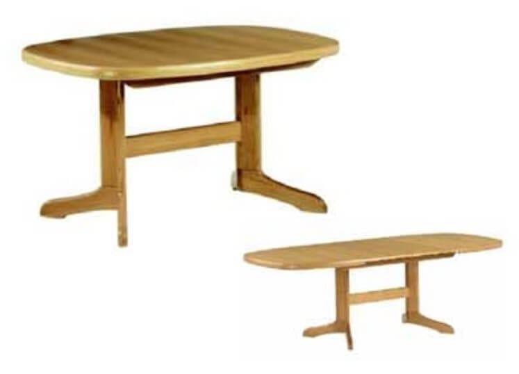 Klose Tische Säulentische Säulentisch länglich