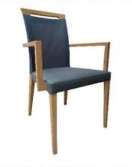 Klose Stühle / Sessel S44 Sessel mit Griff
