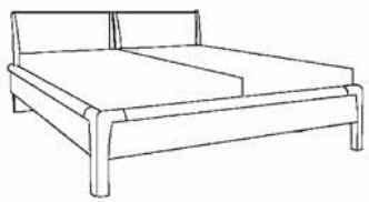 Loddenkemper Schlafzimmer Cortina Plus Betten und Beimöbel
