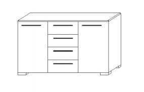 Loddenkemper Schlafzimmer Cortina Plus Beimöbel