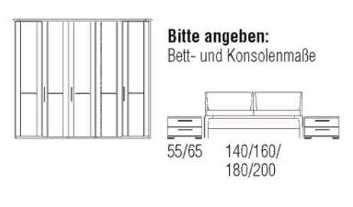 Loddenkemper Schlafzimmer Cortina Plus Zusammenstellungen