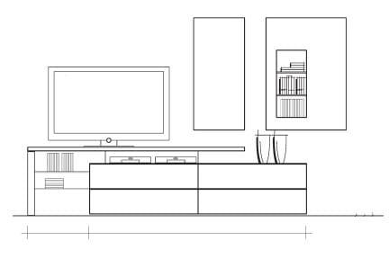 Loddenkemper Wohnzimmer Media3000 Vorschlagswände