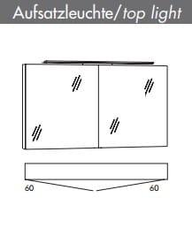 Marlin Bad 3160 (ehemals Motion) Spiegelschränke
