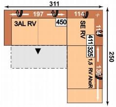 Megapol Dreamer 3ALRV-SERV-1,5RVAhoR