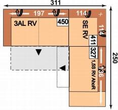 Megapol Dreamer 3ALRV-SERV-1,5SRVAhoR