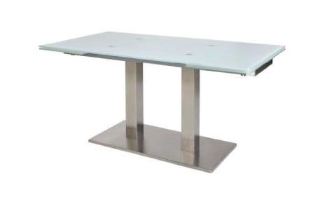 MWA Nova Glastisch mit Auszugsfunktion