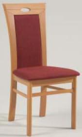 Niehoff Stühle Senator-Gold Stuhl mit Polstersitz