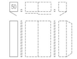 Nolte Germersheim Schwebe- / Dreh- und Falttürenschränke Attraction Höhe 223 cm