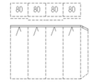 Nolte Germersheim Schwebe- / Dreh- und Falttürenschränke Marcato2.0 Schwebetüren-Panoramaschrank mit Synchronöffnung und 2 Schubkästen
