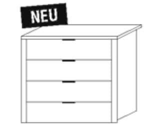 Nolte Germersheim Zubehör Zubehör Schwebetürenschränke für 100er-Mittelteil der Panoramaschränke Schubkasteneinsätze