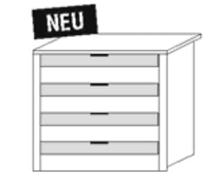Nolte Germersheim Zubehör Zubehör Schwebetürenschränke für 80er-Mittelteil der Panoramaschränke