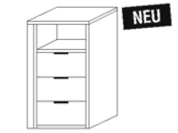 Nolte Germersheim Zubehör Zubehör Drehtürenschränke für 60er-Eckelement mit 60 cm Tiefe