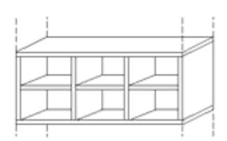 Nolte Germersheim Zubehör Zubehör Falttürenschränke für Schrankelemente mit 100 cm Breite und 60 cm Tiefe