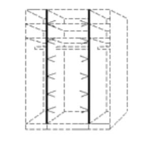 Nolte Germersheim Zubehör Zubehör Schwebetürenschränke für 100er-Mittelteil der Panoramaschränke LED-Lichtband