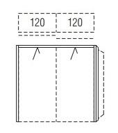 Nolte Germersheim Komplettschlafzimmer Novara Profilkränze mit Passepartout