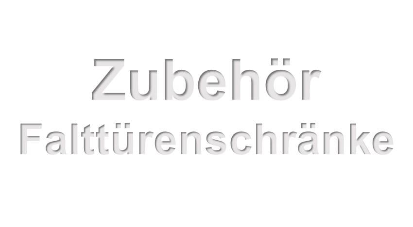 Nolte Germersheim Zubehör Falttürenschränke